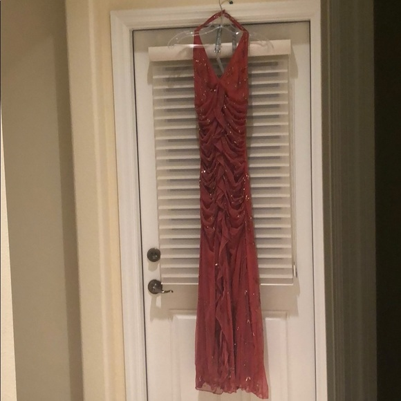 Cache Dresses & Skirts - Cache sequined evening gown.
